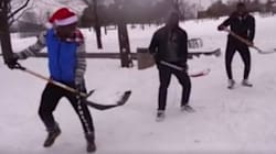 These Montrealers Show How Shovelling Should Be