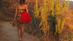 Les vacances de Laury Thilleman en bikini en