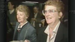 Il y a 30 ans: les sœurs Lévesque, leurs valises rouges et de la