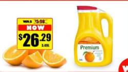 $26 For Orange Juice? Spoof Ads Target Nunavut Food