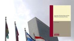 Le livre le plus recherché à la bibliothèque de l'ONU fait un peu