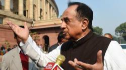 Subramanian Swamy Labels Protests Against Ram Janmabhoomi Seminar In DU As