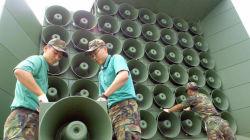 北朝鮮向け拡声機の宣伝放送を4カ月ぶり再開 韓国が核実験に対抗措置