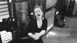Adele souffre au gym comme le commun des