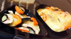 La raclette végétarienne pour les