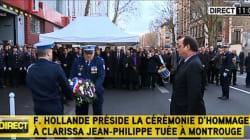 L'hommage de François Hollande à Clarissa
