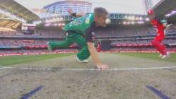 Bizarre Runout In Melbourne BBL