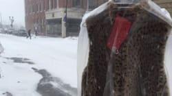 Dons inusités de vêtements chauds