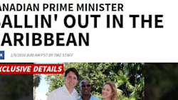 American Tabloid Covers Trudeau's Trip To