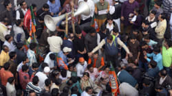 BJP's Fact-Finding Team Detained In Strife-Torn