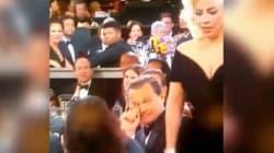 Lady Gaga urta DiCaprio: la reazione dell'attore è
