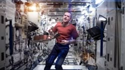 Chris Hadfield Pays Tribute To One Of HIS Heroes, David