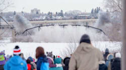 Historic Saskatoon Bridge Goes Out With A