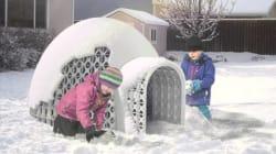 L'invention québécoise pour construire un igloo qui ne s'effondre