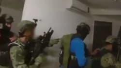 Un vídeo muestra las imágenes del operativo que capturó a 'El
