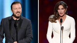 Ricky Gervais Offends With Transphobic Caitlyn Jenner Jokes At The Golden