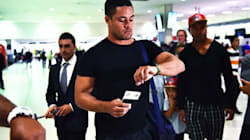 Jarryd Hayne Pictured With Roosters Coach In Sydney, Prompting Speculation He'll Quit The
