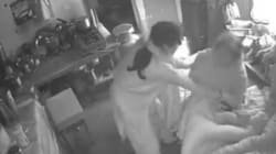 Woman Caught On Camera Brutally Assaulting 70-Year-Old Mother-In-Law;