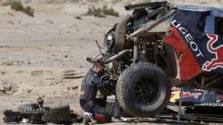 Après plusieurs tonneaux, Loeb perd sa première place sur le