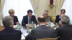 Libia, riunione a Plazzo Chigi con Renzi, Pinotti, Gentiloni e
