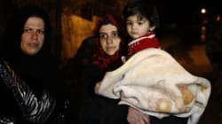 Aid Convoys Arrive In Starving Syrian