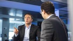 Matteo Renzi tra Rosa Capuozzo e Ignazio