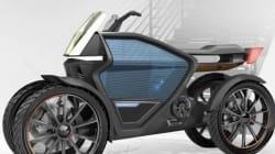Un quad urbain électrique trois