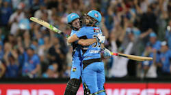 Gun Of A Son: Darren Lehmann's Son Jake Hits Six Off Last Ball To Win Ridiculous