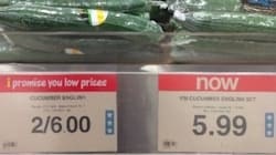 Grocery Prices Are Giving Canadians Serious Sticker