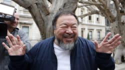 Ai Weiwei Celebrates Lego Victory By Sticking Toy Bricks In