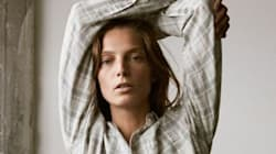 Daria Werbowy Stars In Gender-Neutral Denim