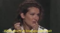 Quand Céline parle de René, elle parle de l'amour avec un grand A