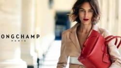 Alexa Chung: magnifique dans la campagne printemps-été 2016 de Longchamp