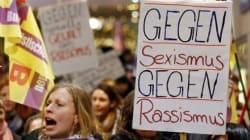 Les Allemandes descendent dans la rue à Cologne
