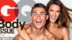Alessandra Ambrosio And Cristiano Ronaldo Strip Down For