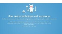Twitter en panne dans plusieurs pays