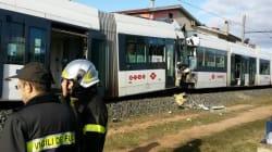 Cagliari, scontro tra treni della metro leggera: decine di feriti