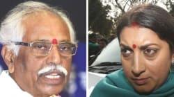 Dalit Scholar Suicide: BJP Rejects Demand For Axing Smriti Irani, Bandaru