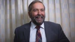 Mulcair Says Age Won't Keep Him From Trudeau