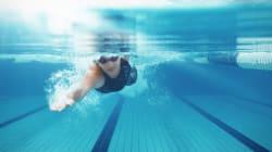 中長距離はS字型で、短距離はI字型 最適クロール泳法が解明される
