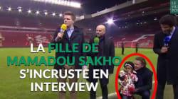 La fille de Mamadou Sakho, nouvelle star de télé