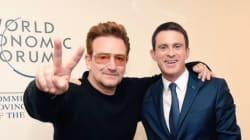 A Davos, Valls s'affiche avec