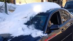 Police Shame Another Canadian For Driving Snow-Covered