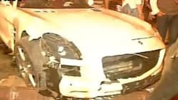 Mercedes Runs Over People Sleeping On The Road In Mumbai, Five