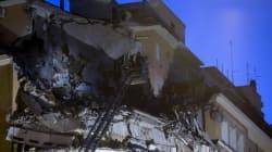 Le nuove rovine di Roma. Crollano tre piani di un palazzo di Lungotevere