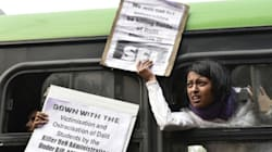 Hyderabad University Protestors Want All The 4 Dalit Students' Suspension Unconditionally