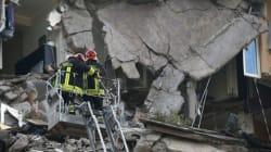 Cosa resta del palazzo crollato sul Lungotevere (FOTO,