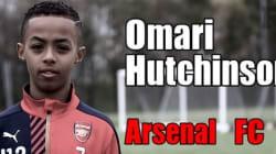 La technique de ce jeune footballeur d'Arsenal est simplement