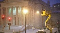 La tempête de neige historique atteint les États-Unis