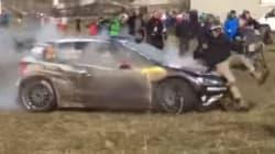 Il renverse un spectateur au rallye de Monte-Carlo puis continue sa